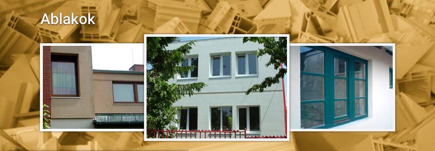 Ablakok, Ikkuna nyílászárók, Veszprém