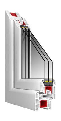 T-Modern ablakprofil az Ikkuna Bt. kínálatában