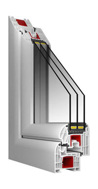 T-Passive ablakprofilok az Ikkuna Bt-nél