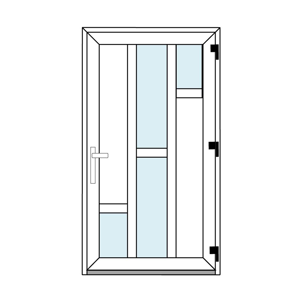 Osztós ajtó, Ovi Lehti 11