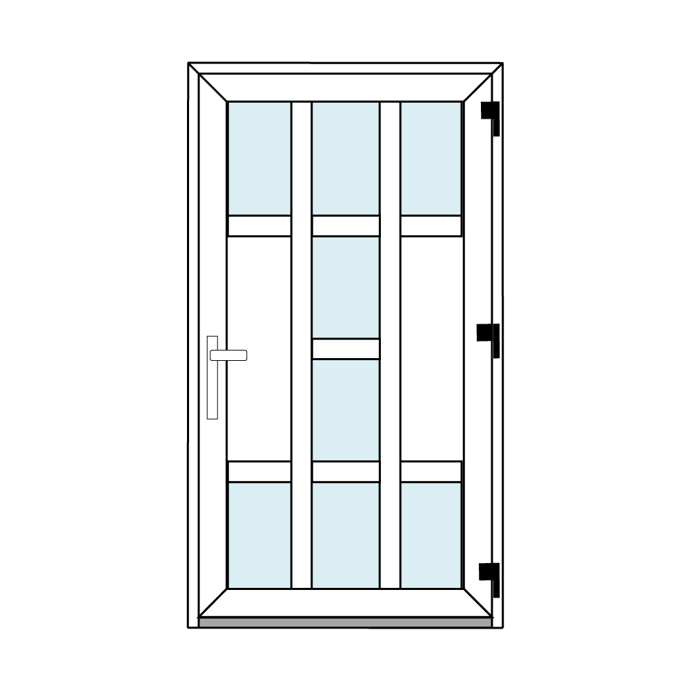 Osztós ajtó, Ovi Lehti 12