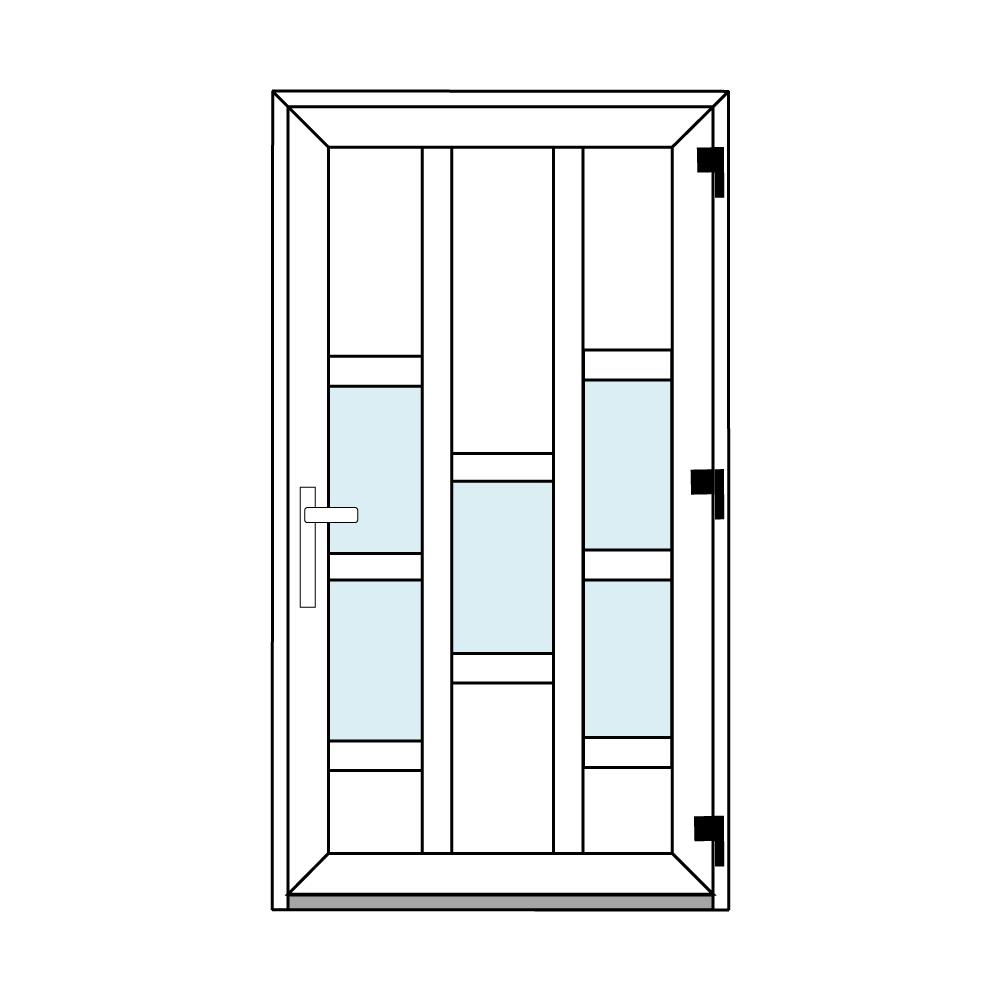 Osztós ajtó, Ovi Lehti 13