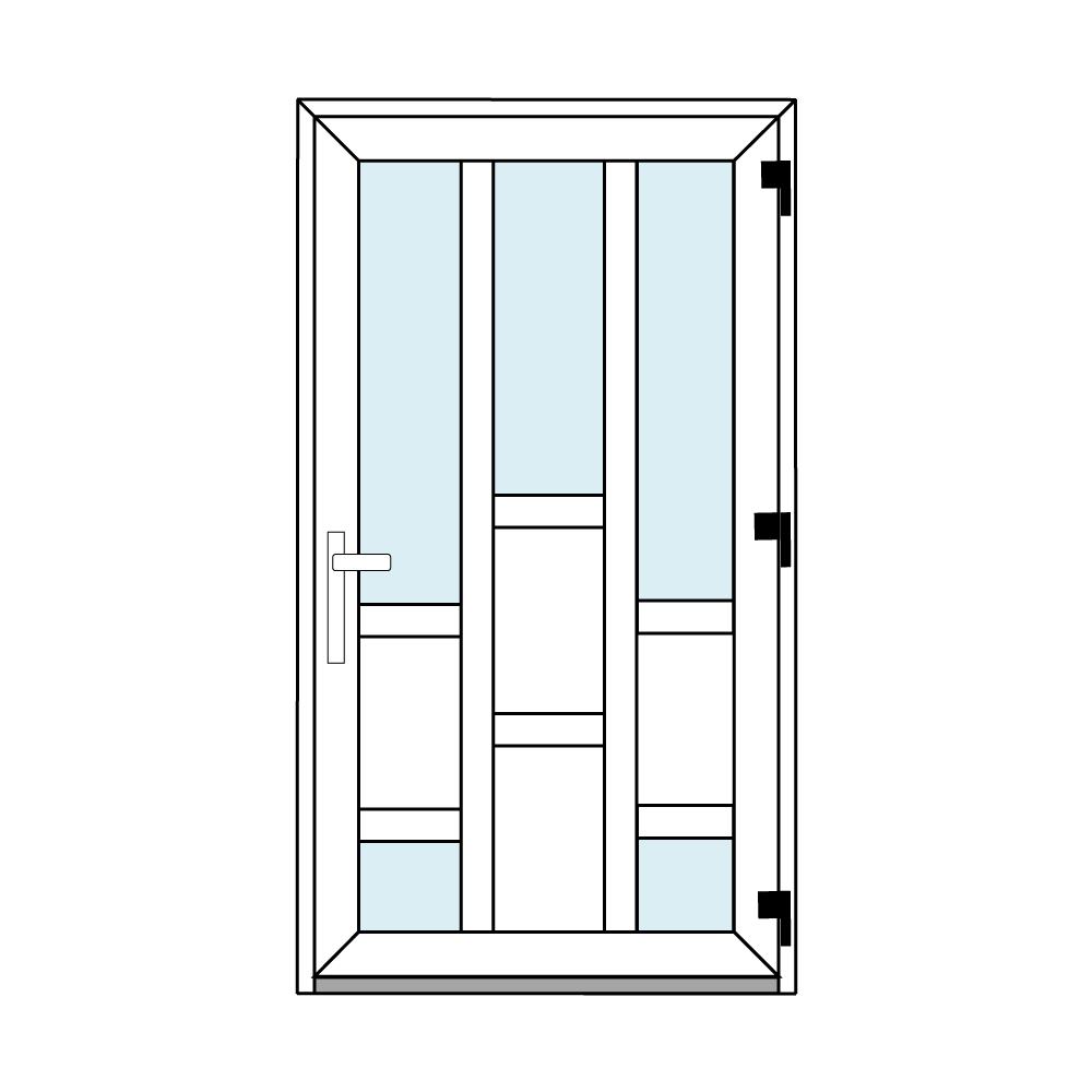 Osztós ajtó, Ovi Lehti 14