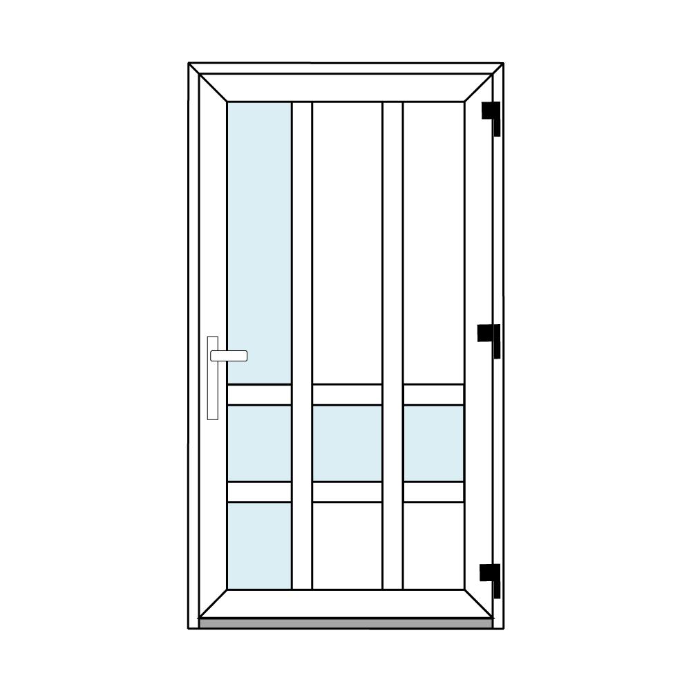 Osztós ajtó, Ovi Lehti 15