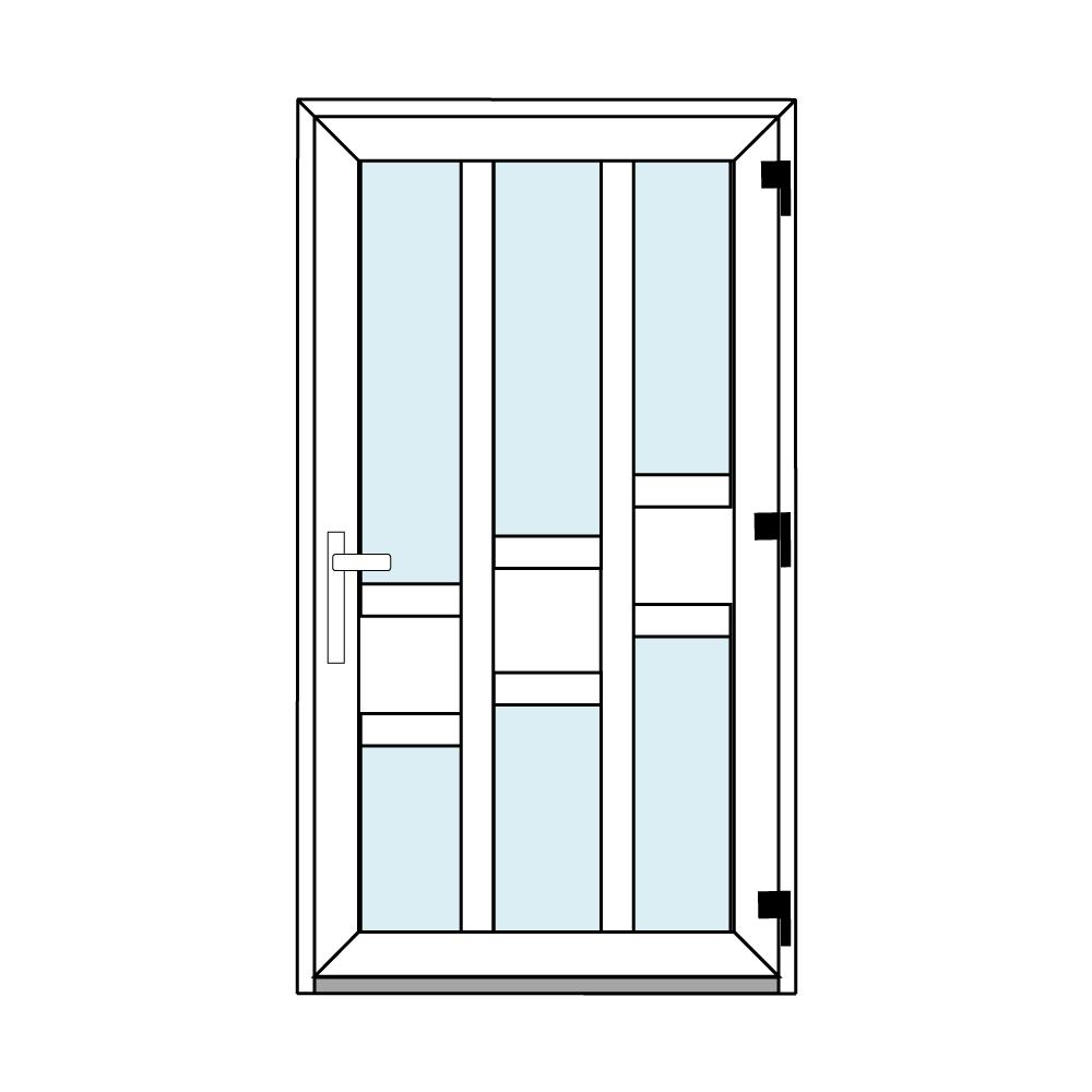 Osztós ajtó, Ovi Lehti 16