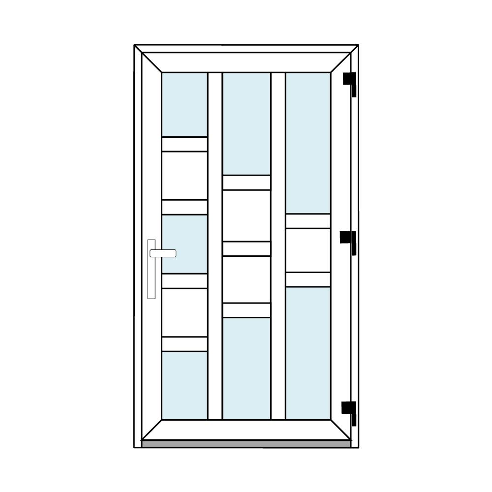 Osztós ajtó, Ovi Lehti 17