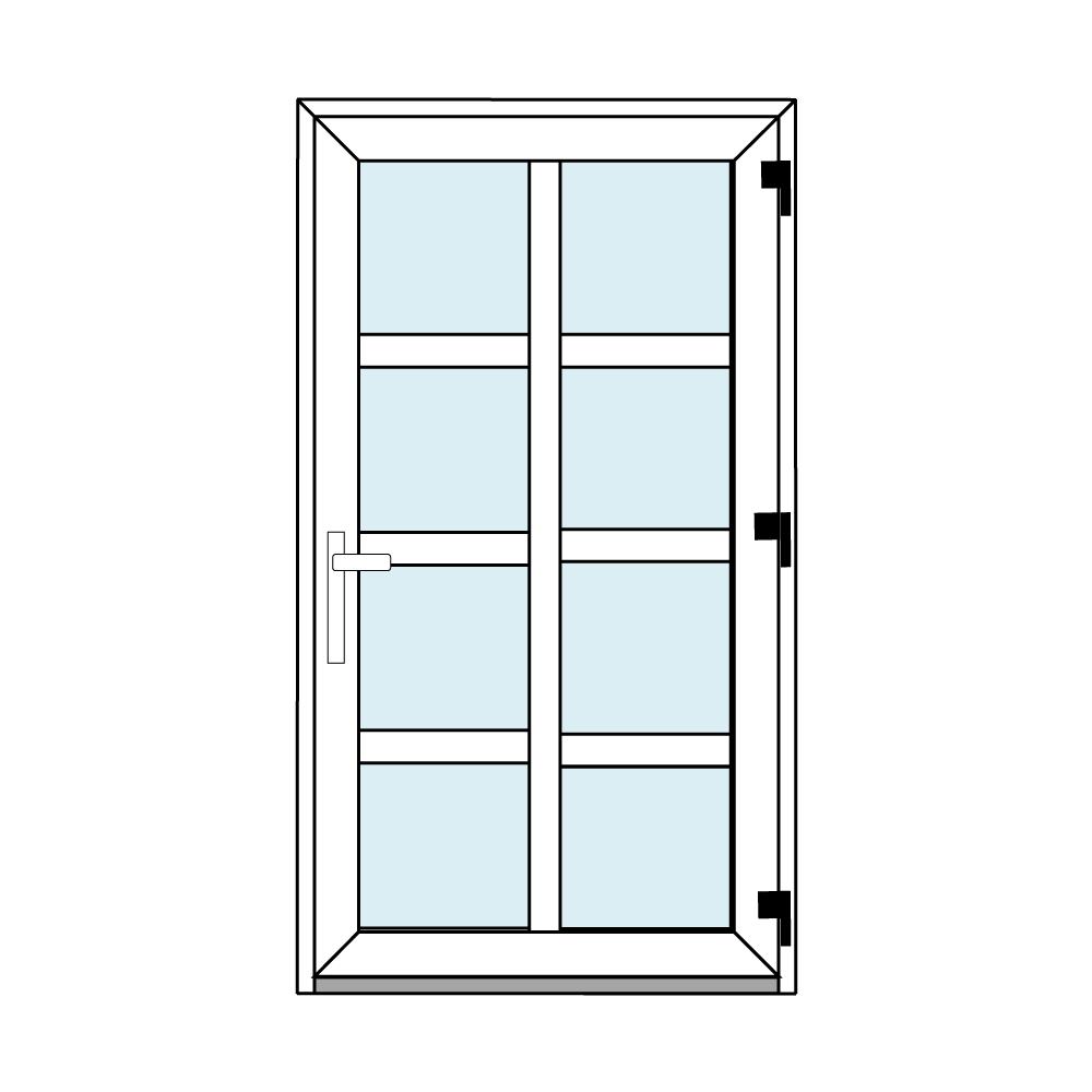 Osztós ajtó, Ovi Lehti 1