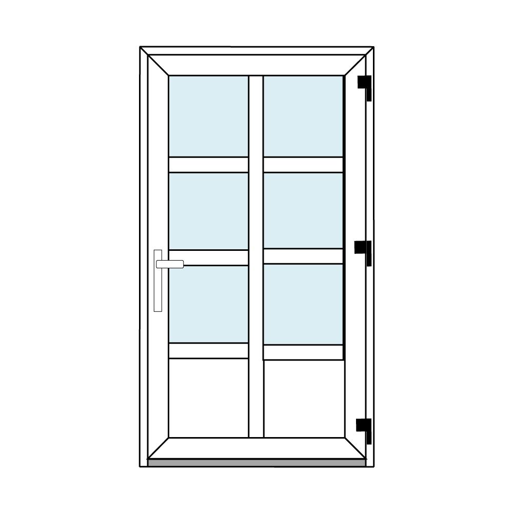 Osztós ajtó, Ovi Lehti 4