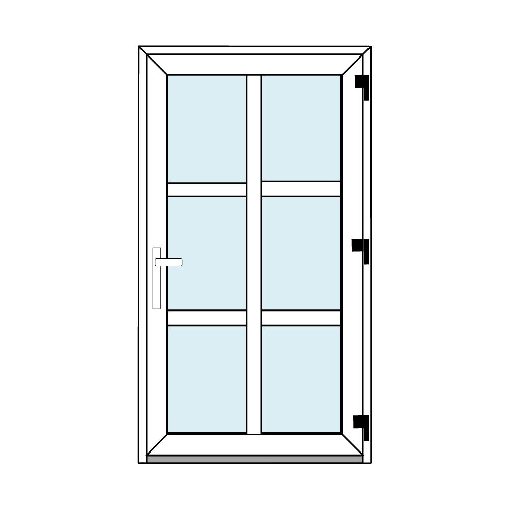 Osztós ajtó, Ovi Lehti 5