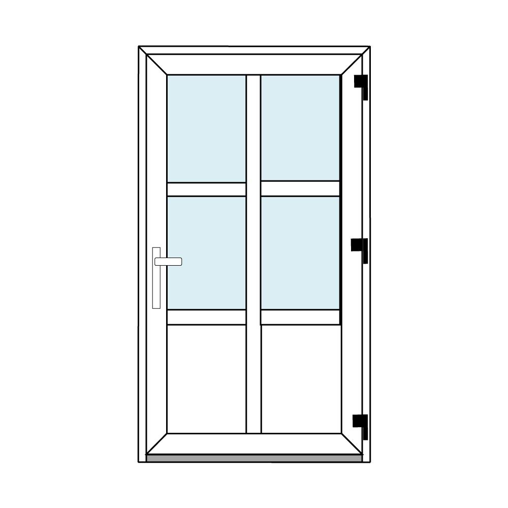 Osztós ajtó, Ovi Lehti 6
