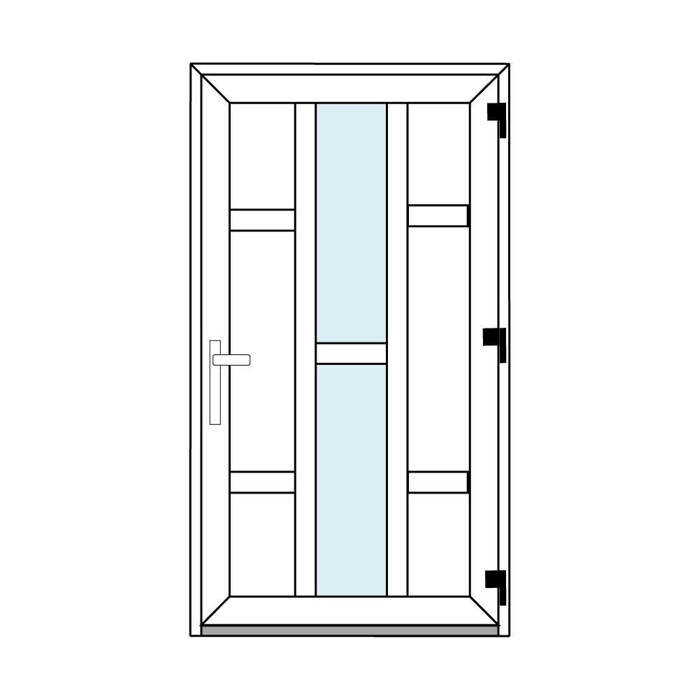 Osztós ajtó, Ovi Lehti 9